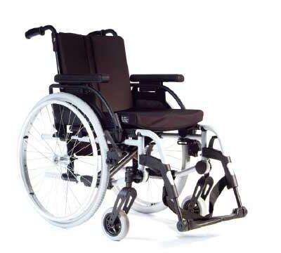Wózki inwalidzkie aluminiowe