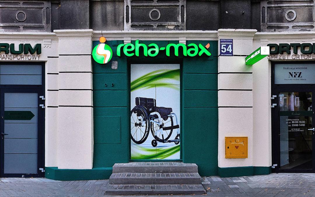 Rozbudowa sklepu medycznego Reha-Max w Lublinie