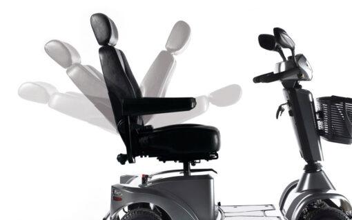 skuter inwalidzki elektryczny sterling s700 fotel