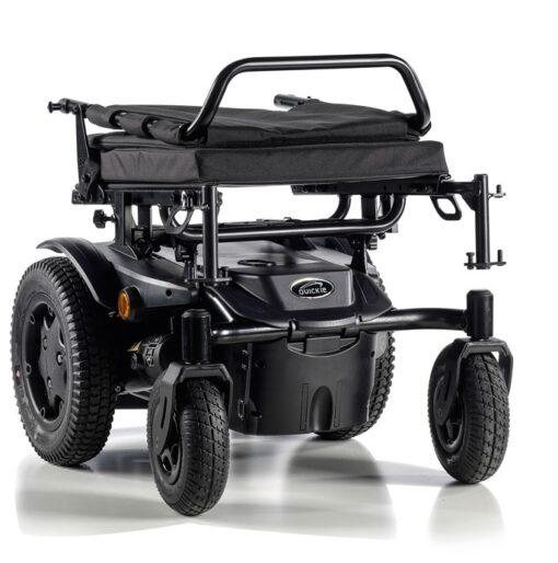 Składany wózek inwalidzki elektryczny Q200 R