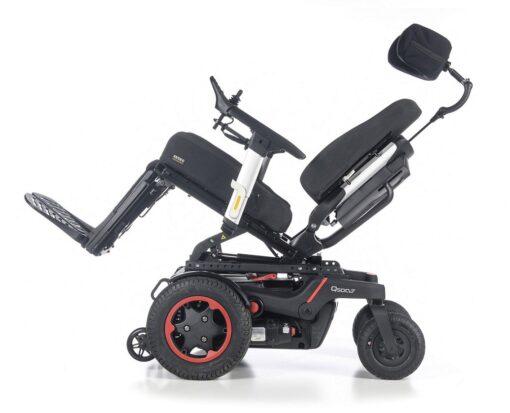 Wózek inwalidzki elektryczny Quickie Q500 F opcje
