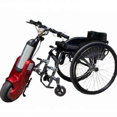 Przystawka elektryczna do wózka inwalidzkiego o napędzie ręcznym STREET WARRIOR Q1-10